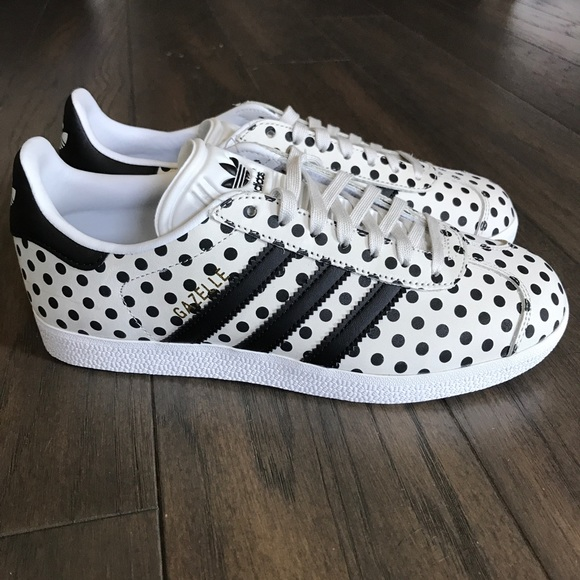 Size 6 adidas x The Farm Gazelle Polka Dots NWT NWT